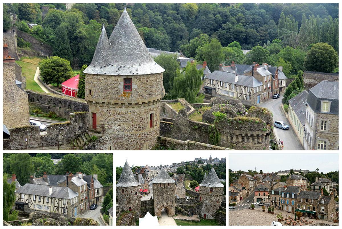 Бретань. Фужер. Город-крепость, который хранит память о множестве сражений…