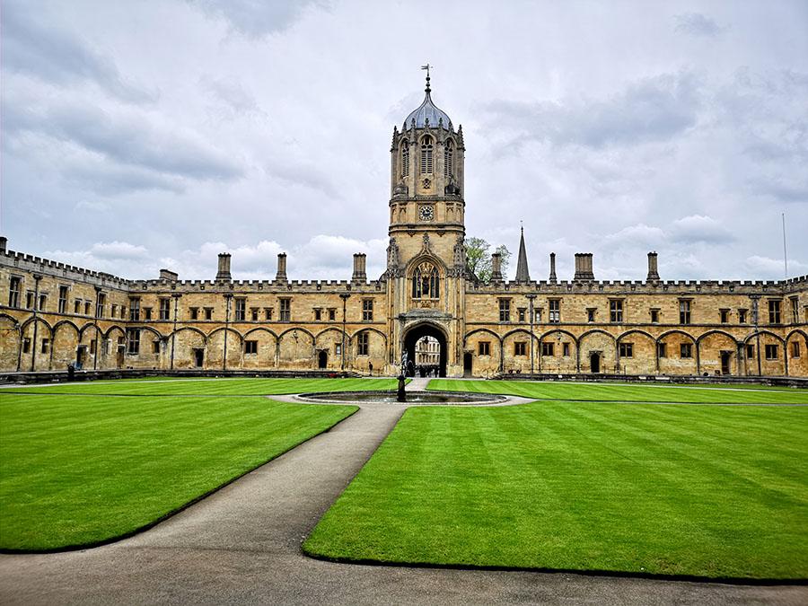 Christ Church — колледж в Оксфорде, где снимали Гарри Поттера