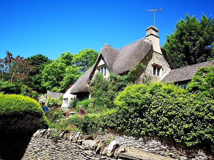 По Англии на машине. Деревня Касл Комб (Castle Combe) — одна из самых красивых в Котсуолдс