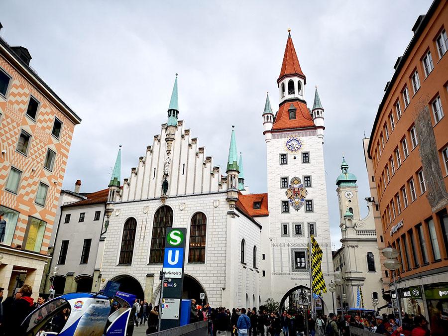 Прогулка по Мюнхену. Что можно увидеть за один день?