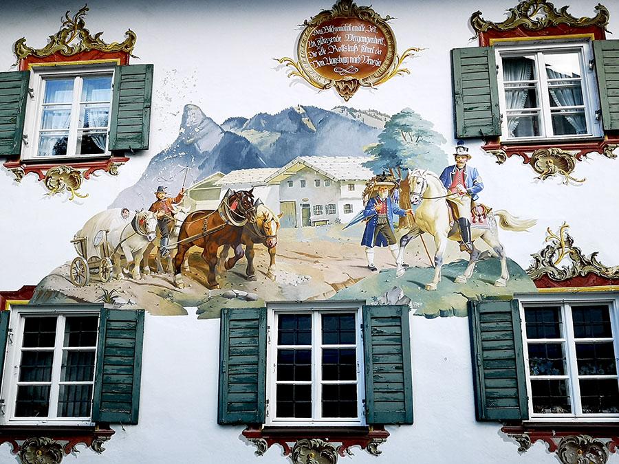 Обераммергау. Самая красивая деревня в Баварии