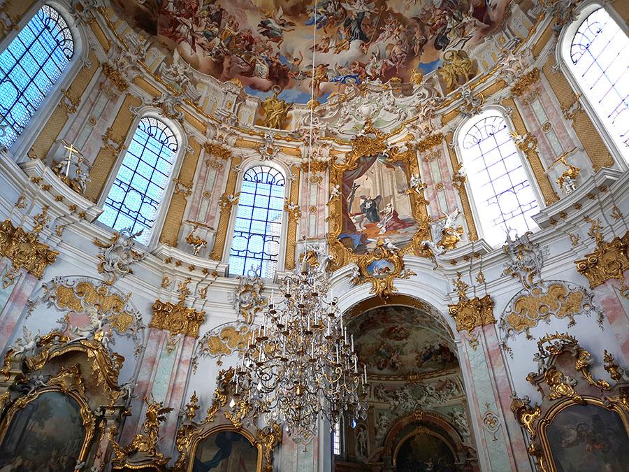 Эттальский монастырь. Самый красивый монастырь Германии.
