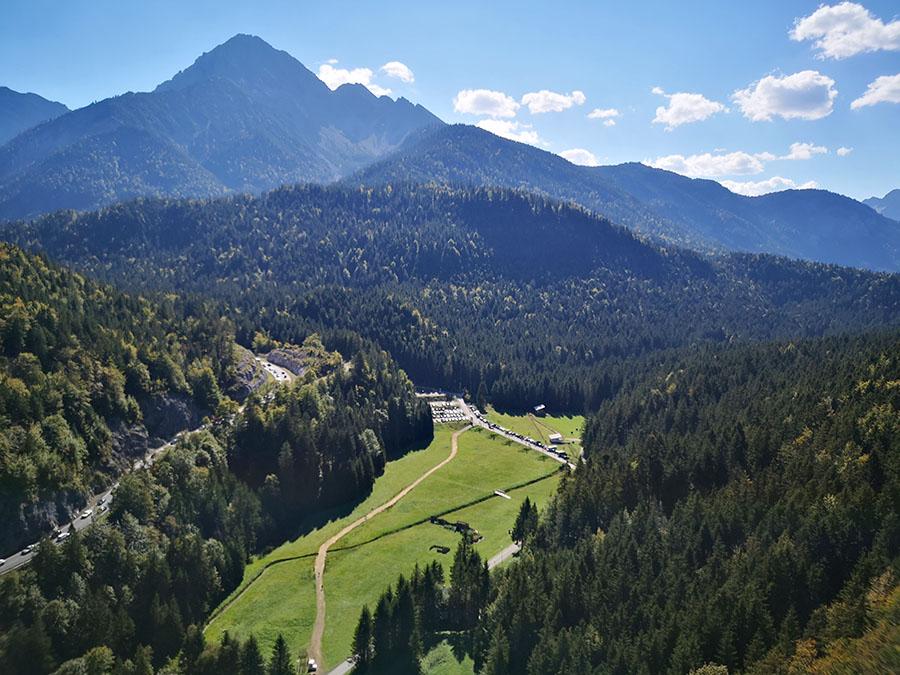 Необычный кусочек Австрии: «Highline 179» и озеро Планзее (Plansee)