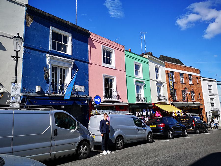 Ноттинг-Хилл (Notting Hill) — один из живописных районов Лондона