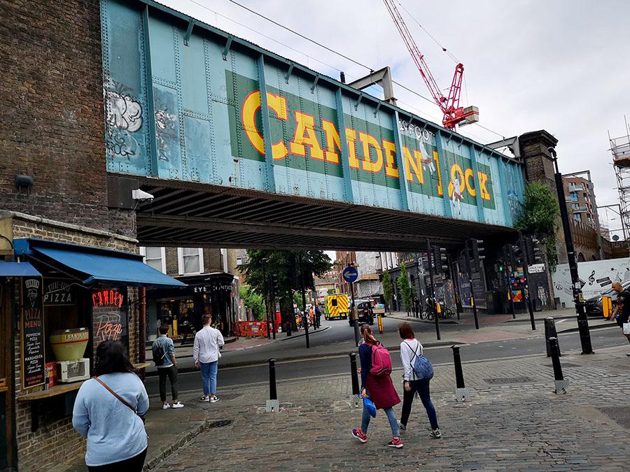 Camden Town — один из самых любимых районов Лондона