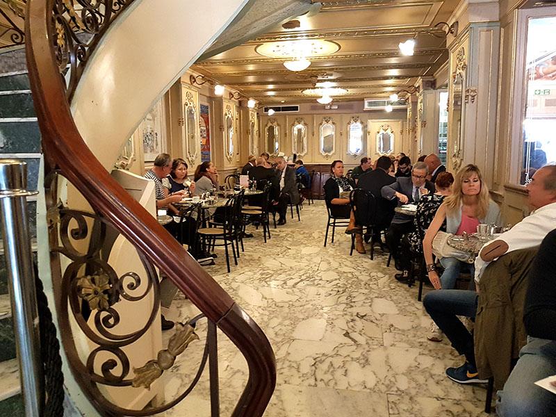 Мальта. Валлетта. Кафе Кордина с двухвековой историей!