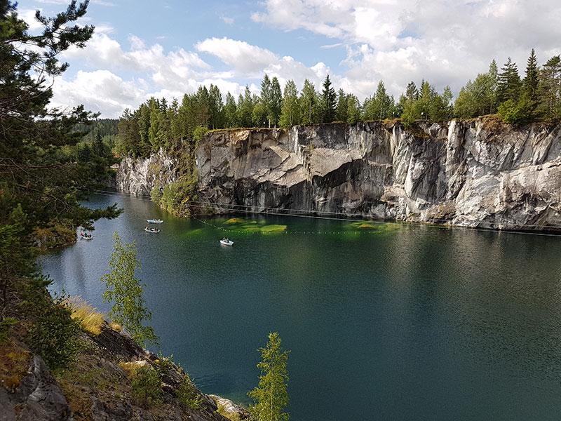 Карельский парк «Рускеала». Наш ответ Европе!:)))