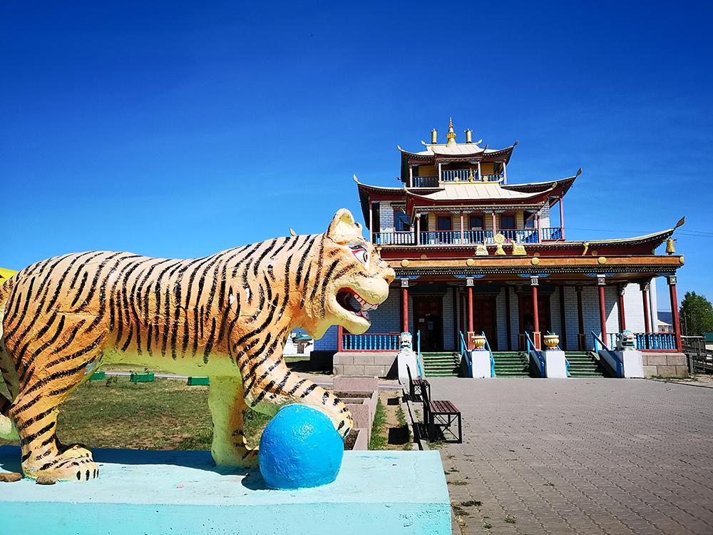Буддийские храмы в Бурятии