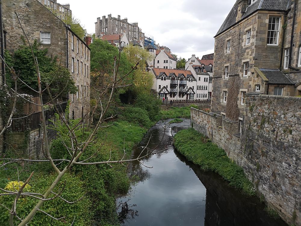 Dean Village. Деревня в сердце Эдинбурга