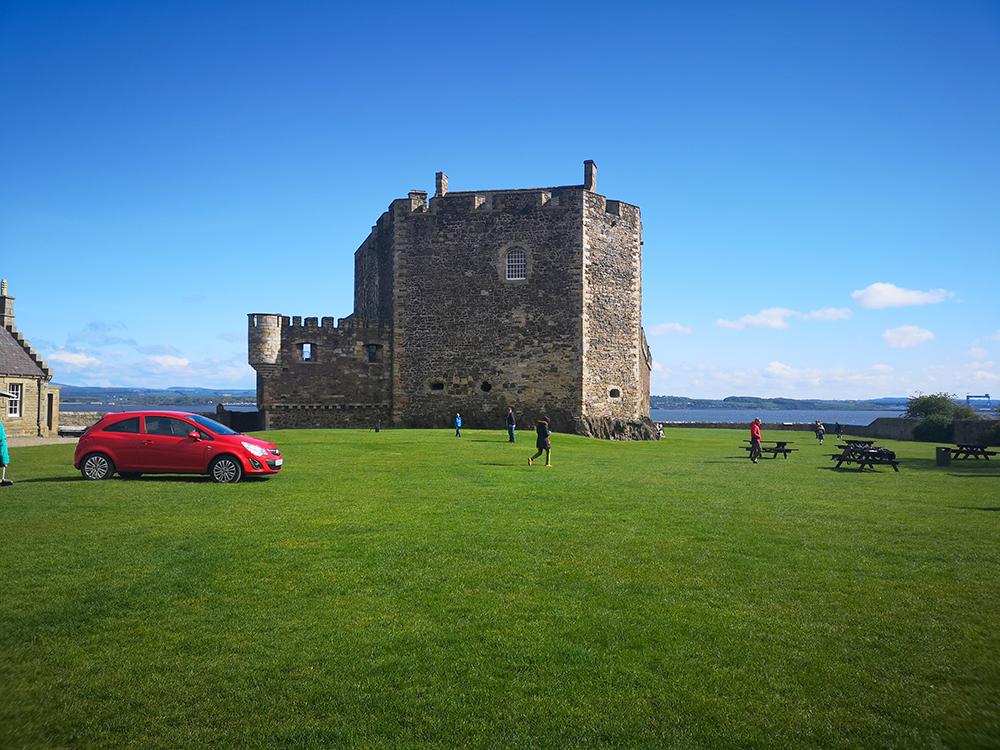 Блэкнесс. Замок-тюрьма в Шотландии