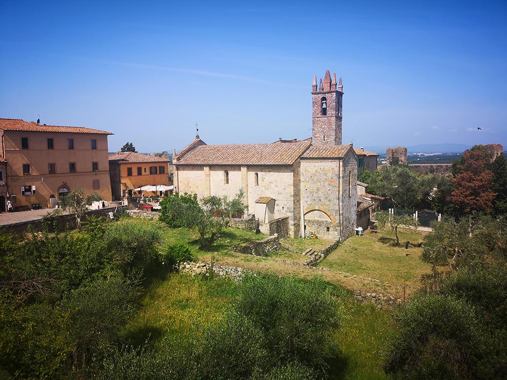Монтериджони. Город-крепость в Тоскане