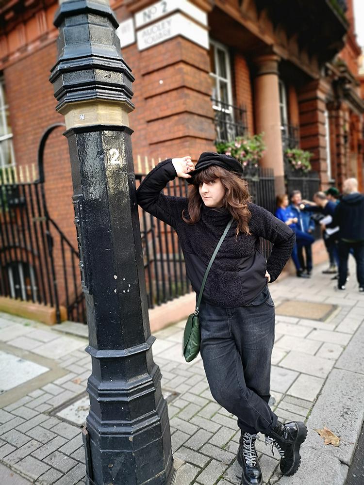 Фонарь шпионов на Audley Square