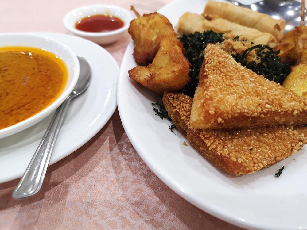 Чем кормят в китайском квартале в Лондоне