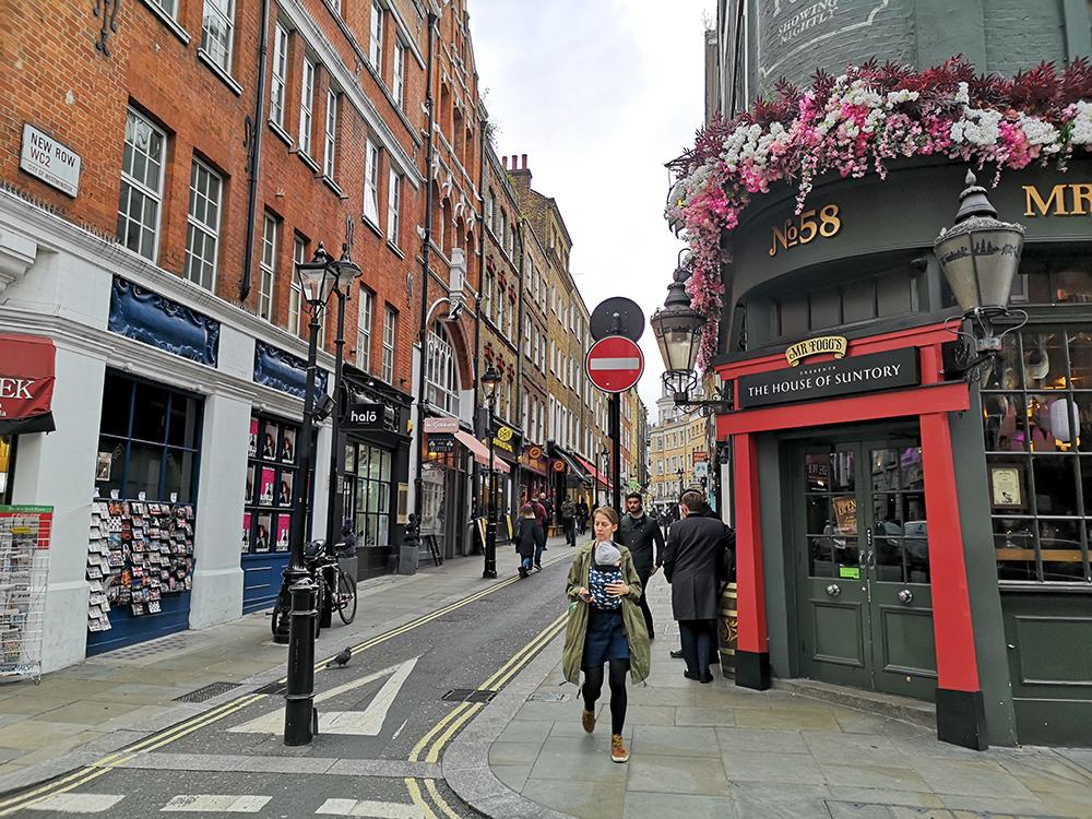 Таверна Мистера Фогга в центре Лондона