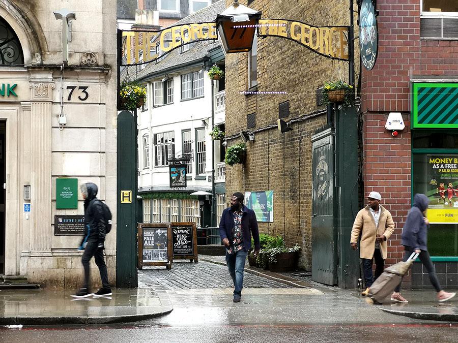 Старинные пабы Лондона. Район Саутворк