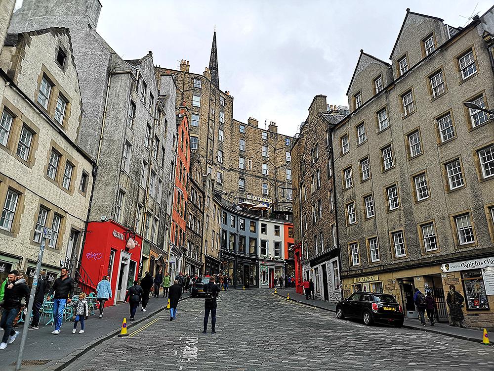 Виктория-стрит. Самая красивая улица Эдинбурга