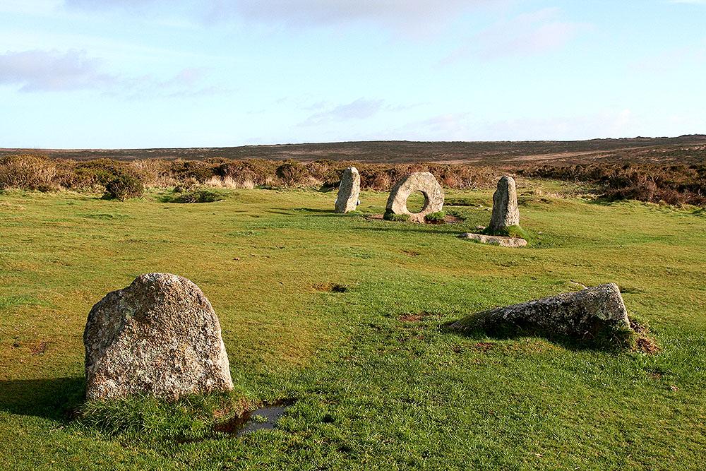 Однажды мы отправились к доисторическим камням в Корнуолле. Дорога оказалась непростой!