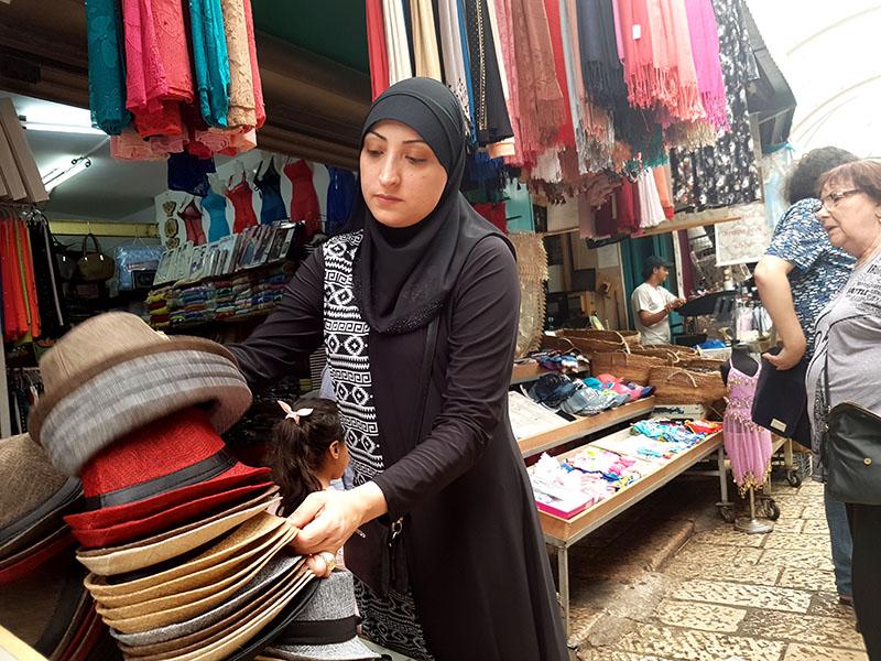 Израиль. Восточный базар в Акко