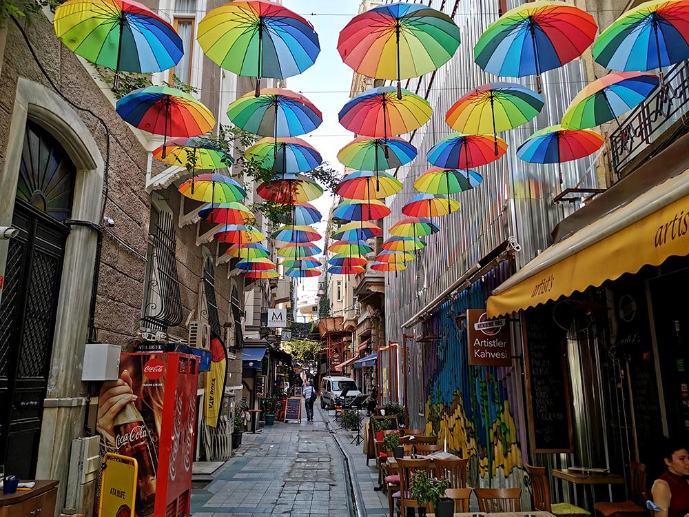 Каракёй. Красочный район Стамбула