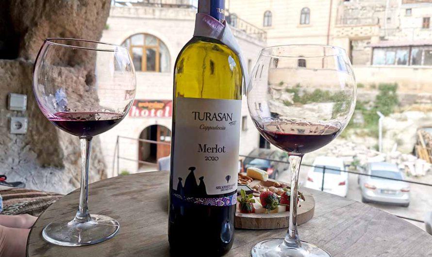 Турецкое вино и бар Organic wine house в Гёреме, Каппадокия