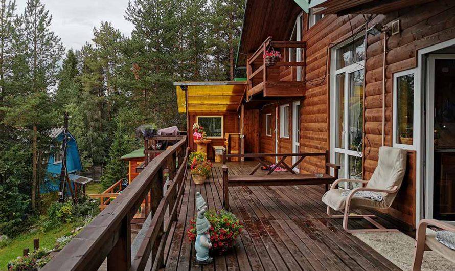 Отдых в Мурманской области: где остановиться, сколько стоит аренда дома «Колвицкие зори»